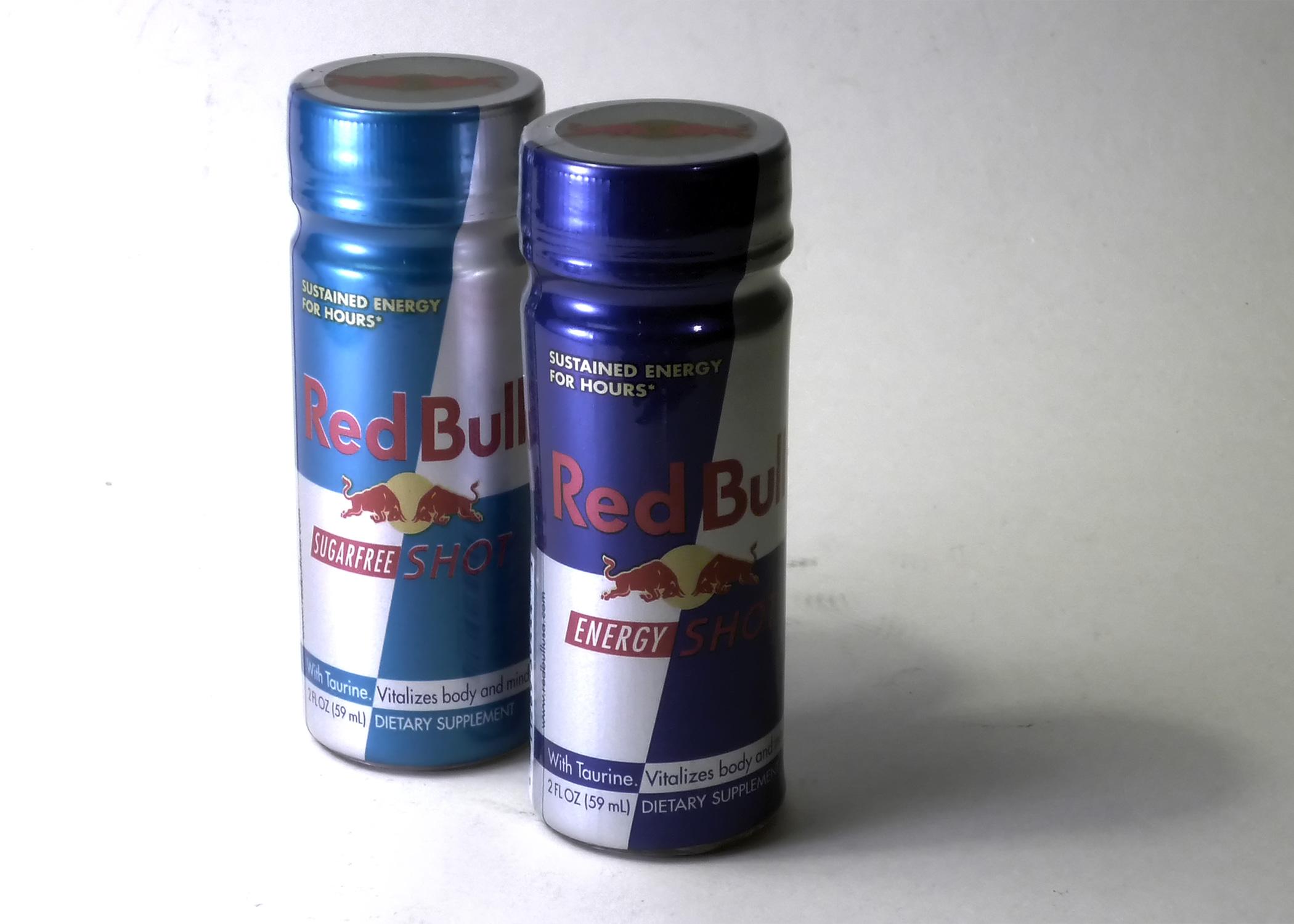 RedBull shots