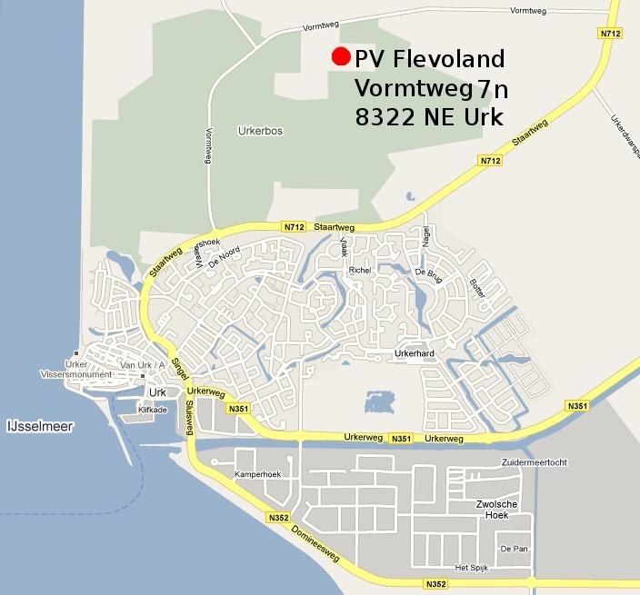 PV Flevoland Urk - Route beschrijving